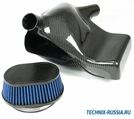 Карбоновый воздухозаборник BMW 3er Serie E90 335i N54 B30 TA-TECHNIX 114BM001