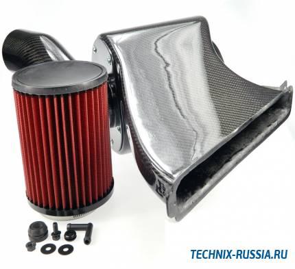Карбоновый воздухозаборник Audi A3 8V 1.8TFSI / 2.0TSI / 2.0TFSI CJS+CJX TA-TECHNIX 114VW012