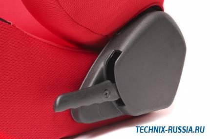 Спортивное сиденье полуковш TA-TECHNIX 117S2RL ткань красный