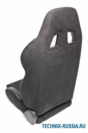 Спортивное сиденье полуковш TA-TECHNIX 117S2RR ткань красный