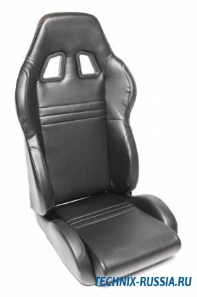 Спортивное сиденье полуковш TA-TECHNIX 117S2S-KL-L искусственная кожа черный