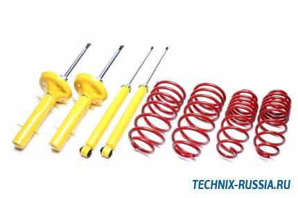 Комплект спортивной подвески с занижением -60мм / -40мм Ford Fiesta JAS / JBS TA-TECHNIX *EVOFO030
